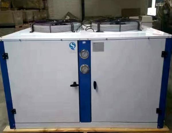 制冷机组安装