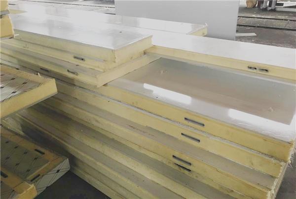 双面玻璃钢板搭钩冷库板