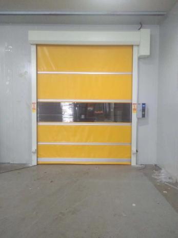 冷库PVC快速卷帘门